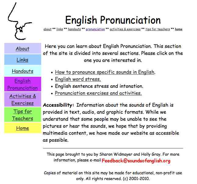 Kutztown University Language Resource Center licensed for non – Esl Pronunciation Worksheets